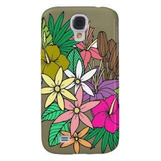 Carcasa Para Galaxy S4 Flores 2