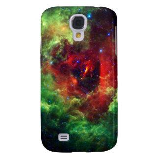 Carcasa Para Galaxy S4 Los unicornios subió la nebulosa del rosetón