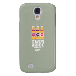 Carcasa Para Galaxy S4 Novia Singapur del equipo 2017 Z4gkk