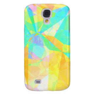 Carcasa Para Galaxy S4 Polígono artístico que pinta arte abstracto del