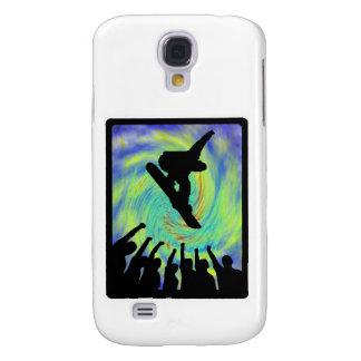 Carcasa Para Galaxy S4 Seguidores de la snowboard