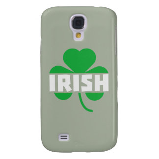 Carcasa Para Galaxy S4 Trébol irlandés Z2n9r del cloverleaf
