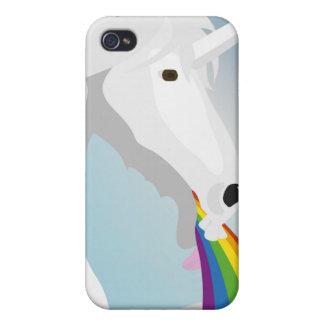 Carcasa Para iPhone 4/4S Unicornios puking del ejemplo