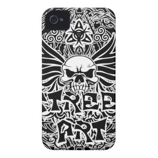 Carcasa Para iPhone 4 Arte tribal de la calle del tatuaje