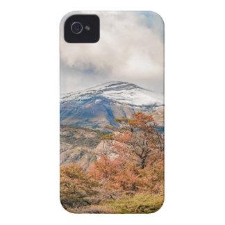 Carcasa Para iPhone 4 Bosque y montañas Nevado, Patagonia, la Argentina