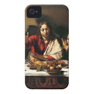 Carcasa Para iPhone 4 Caravaggio - cena en Emmaus - pintura clásica