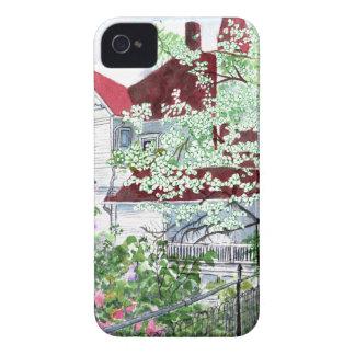 Carcasa Para iPhone 4 Casa del Victorian de Eureka Springs