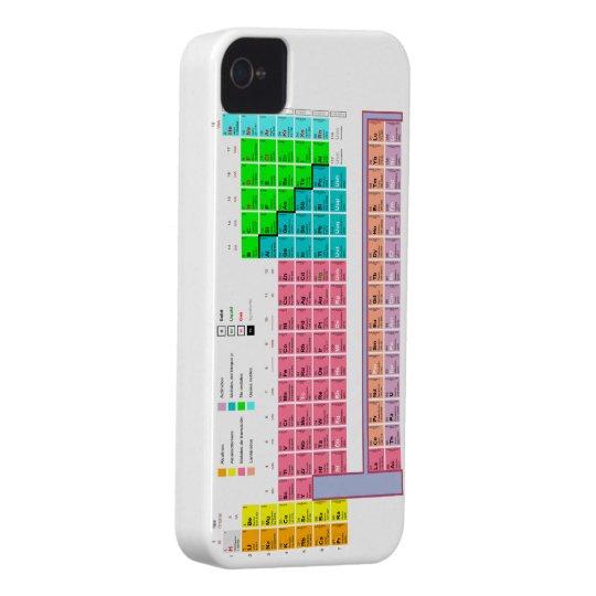 "Carcasa Para iPhone 4 Case iPHONE 4/4S ""PERIODIC TABLE"""