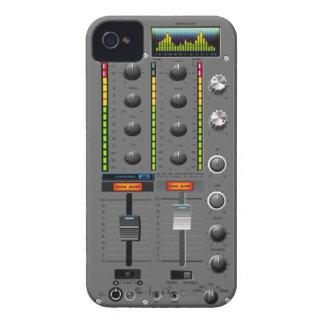 Carcasa Para iPhone 4 Caso del iPhone del mezclador de la música