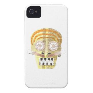 Carcasa Para iPhone 4 Caso musical de IPhone 4 del cráneo