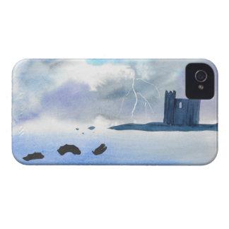Carcasa Para iPhone 4 Castillo por el mar