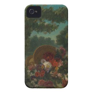 Carcasa Para iPhone 4 Cesta de flores