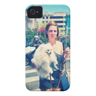 Carcasa Para iPhone 4 chica de la ciudad