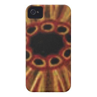 Carcasa Para iPhone 4 círculos de centro del agujero