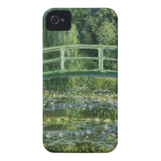 Carcasa Para iPhone 4 Claude Monet - puente japonés