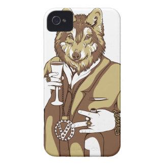 Carcasa Para iPhone 4 consumición relacionada humana del perro