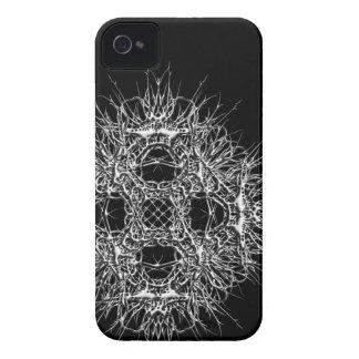 Carcasa Para iPhone 4 dark 666