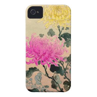 Carcasa Para iPhone 4 De Case-Mate 土屋光逸 de Tsuchiya Koitsu - 菊 del crisantemo