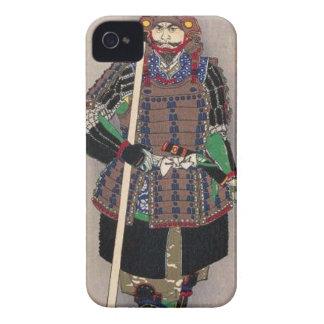 Carcasa Para iPhone 4 De Case-Mate 山中幸盛 de Yukimori del samurai por el 月岡芳年 de