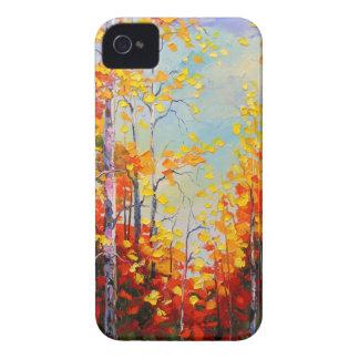 Carcasa Para iPhone 4 De Case-Mate Abedules del otoño