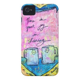 Carcasa Para iPhone 4 De Case-Mate Abrazos en un pote