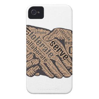 Carcasa Para iPhone 4 De Case-Mate Apretón de manos