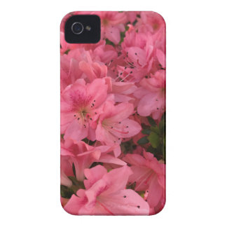 Carcasa Para iPhone 4 De Case-Mate Arbusto floreciente rosado brillante