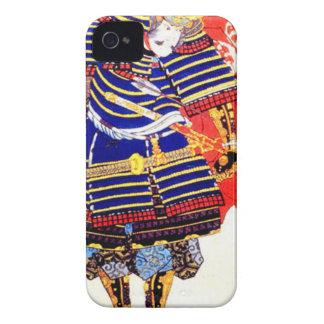 Carcasa Para iPhone 4 De Case-Mate Arte japonés clásico Japón del samurai