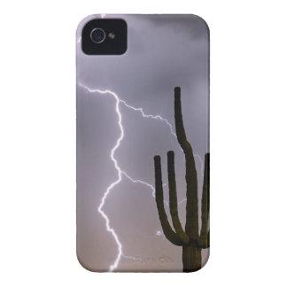 Carcasa Para iPhone 4 De Case-Mate Asalto de la monzón del desierto de Sonoran
