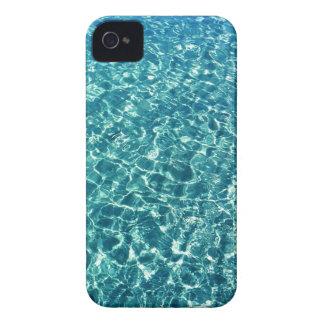 Carcasa Para iPhone 4 De Case-Mate Azul claro del agua