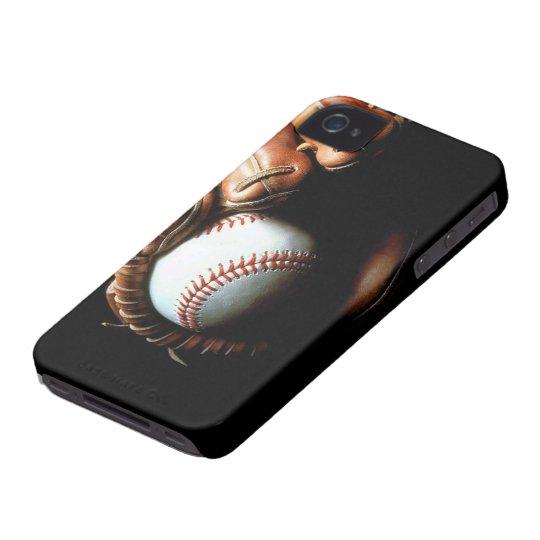 Carcasa Para iPhone 4 De Case-Mate Baseball Glove