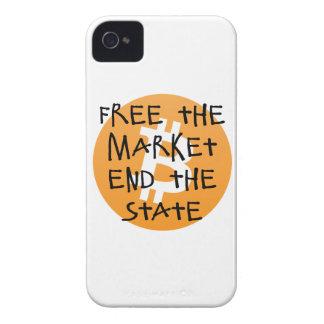 Carcasa Para iPhone 4 De Case-Mate Bitcoin - libere el extremo del mercado el estado