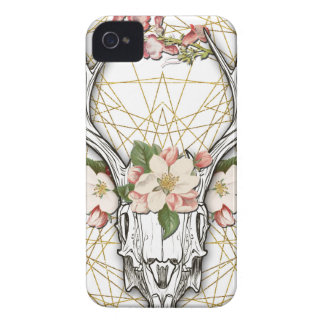 Carcasa Para iPhone 4 De Case-Mate Boho Skull