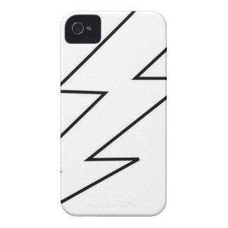 Carcasa Para iPhone 4 De Case-Mate bolta del relámpago