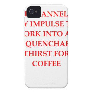 CARCASA PARA iPhone 4 DE Case-Mate CAFÉ