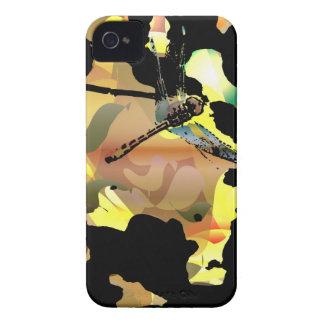Carcasa Para iPhone 4 De Case-Mate Caja hermosa del teléfono de la libélula