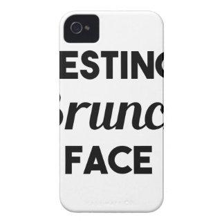 Carcasa Para iPhone 4 De Case-Mate Cara de reclinación del brunch
