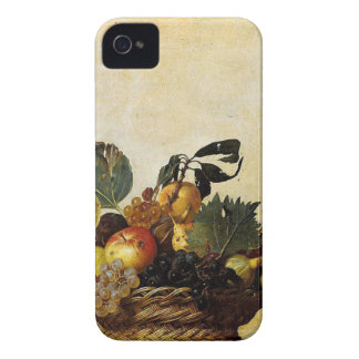 Carcasa Para iPhone 4 De Case-Mate Caravaggio - cesta de fruta - ilustraciones