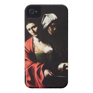 Carcasa Para iPhone 4 De Case-Mate Caravaggio - Salome - ilustraciones barrocas