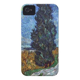 Carcasa Para iPhone 4 De Case-Mate Carretera nacional de Vincent van Gogh en Provence
