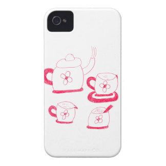 Carcasa Para iPhone 4 De Case-Mate Casamata Barely There del iPhone 4/4S del tiempo