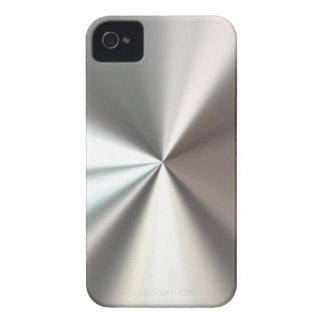 Carcasa Para iPhone 4 De Case-Mate Caso de acero fresco de /4S del iPhone 4 de la