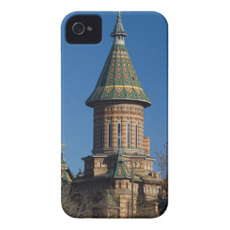 Carcasa Para iPhone 4 De Case-Mate Catedral de Mitropolitan, Timisoara, Rumania