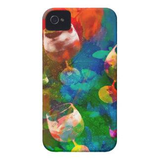 Carcasa Para iPhone 4 De Case-Mate Celebramos la vida en colores completos