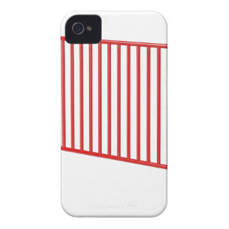 Carcasa Para iPhone 4 De Case-Mate Cerca móvil roja
