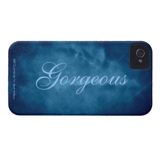 Carcasa Para iPhone 4 De Case-Mate Cielo azul magnífico