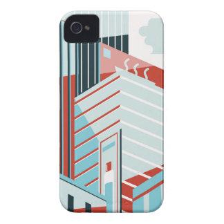 Carcasa Para iPhone 4 De Case-Mate Ciudad moderna