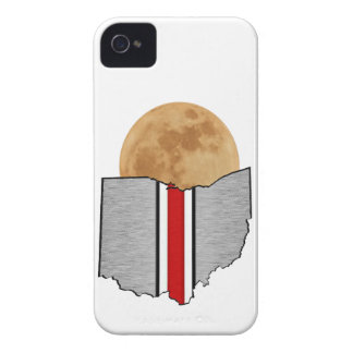 Carcasa Para iPhone 4 De Case-Mate Claro de luna de Ohio