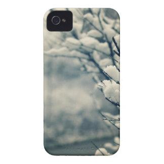 Carcasa Para iPhone 4 De Case-Mate Cojín de ratón del árbol Nevado