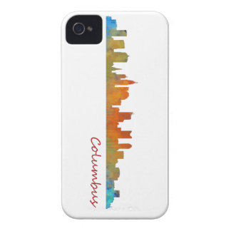 Carcasa Para iPhone 4 De Case-Mate Columbus Ohio, City Skyline, v1